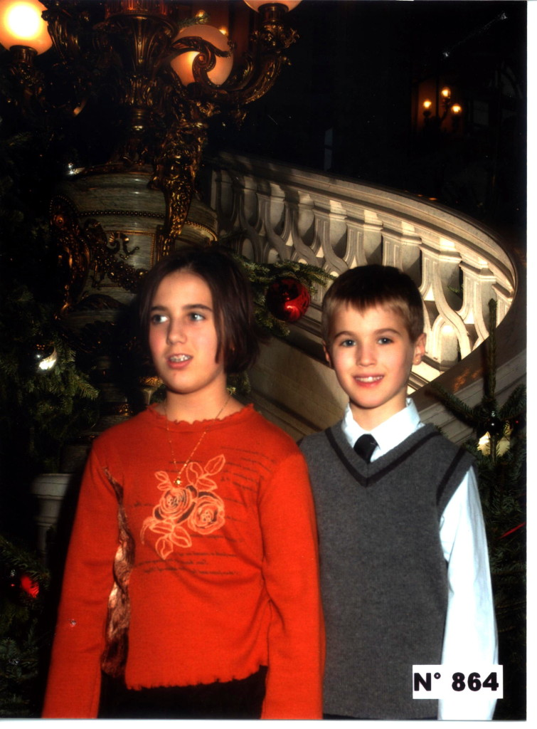 Décembre, l'arbre de Noël du Sénat
