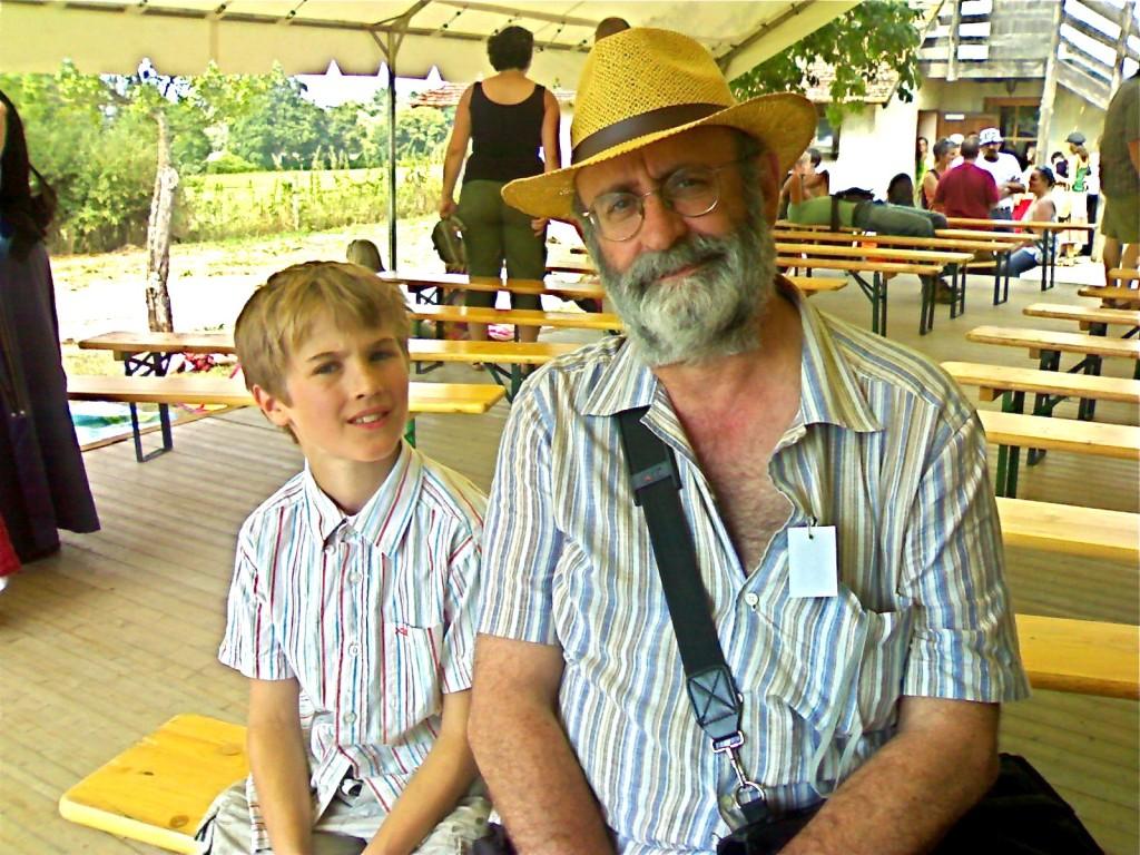 Juillet, la fête des Chavans à Embraud, avec Jean Blanchard