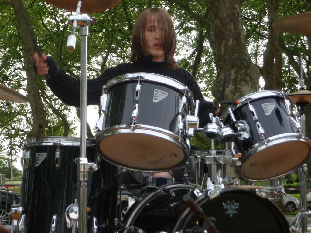 Juillet - Concert avec Krysten