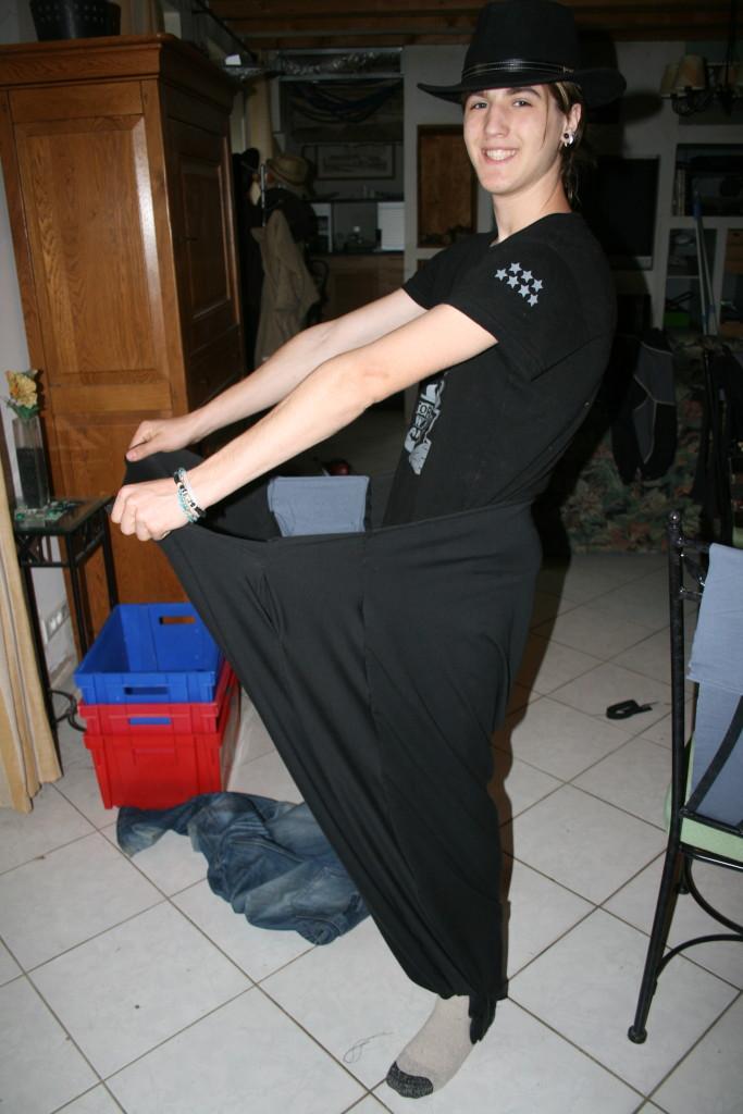 Mathurin, 17 ans, toutes ses dents, une grande culotte et rien dedans